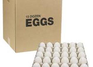 Eggs large 15 dozen