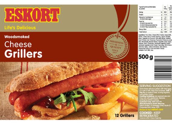 Eskort Cheese Grillers - 500gr