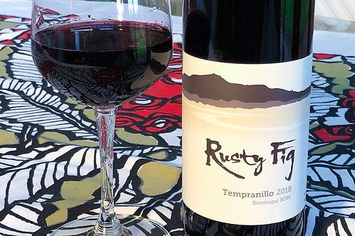 12x Rusty Fig Tempranillo 2018