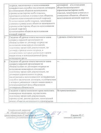 """Допуск СРО компании ООО """"ГорГеоПроект"""". Проектирование."""