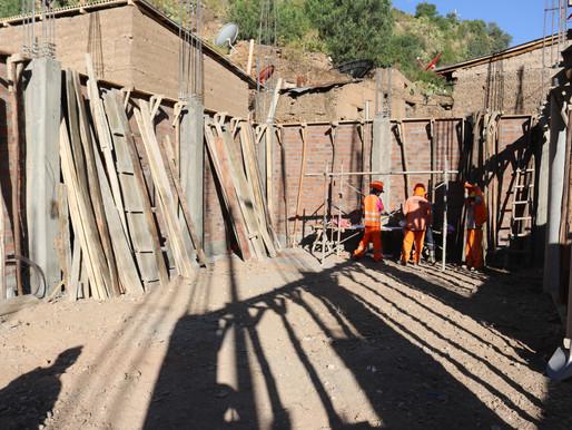 EN MÁS DEL 40% DE AVANCE TIENE LA CONSTRUCCIÓN DEL NUEVO LOCAL DE USOS MÚLTIPLES DE QUICHUAS