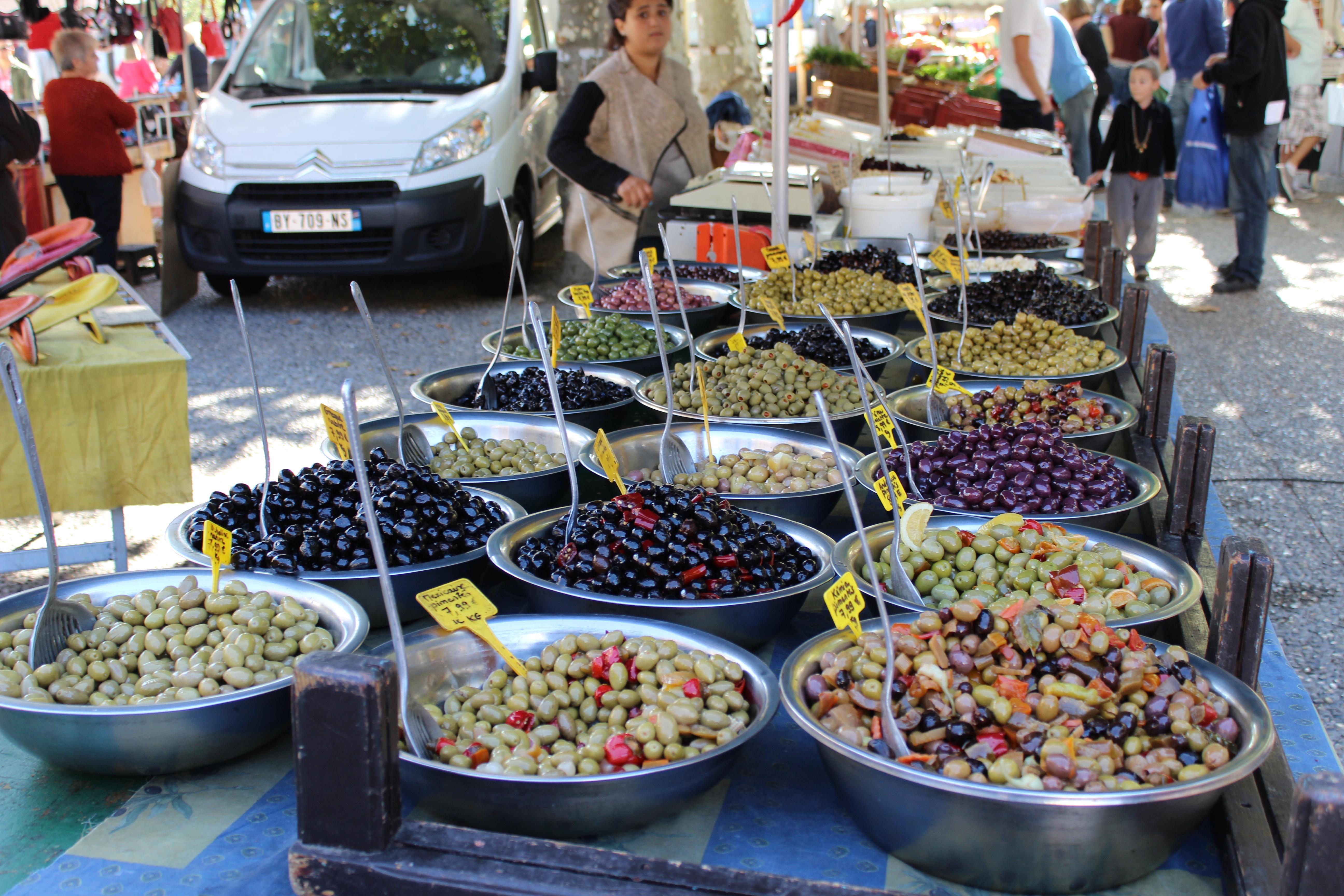 Marché méridional et provençal