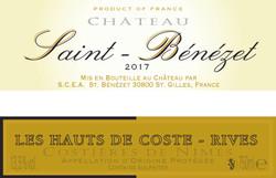 02 Rouge Chateau Saint benezet-Costieres