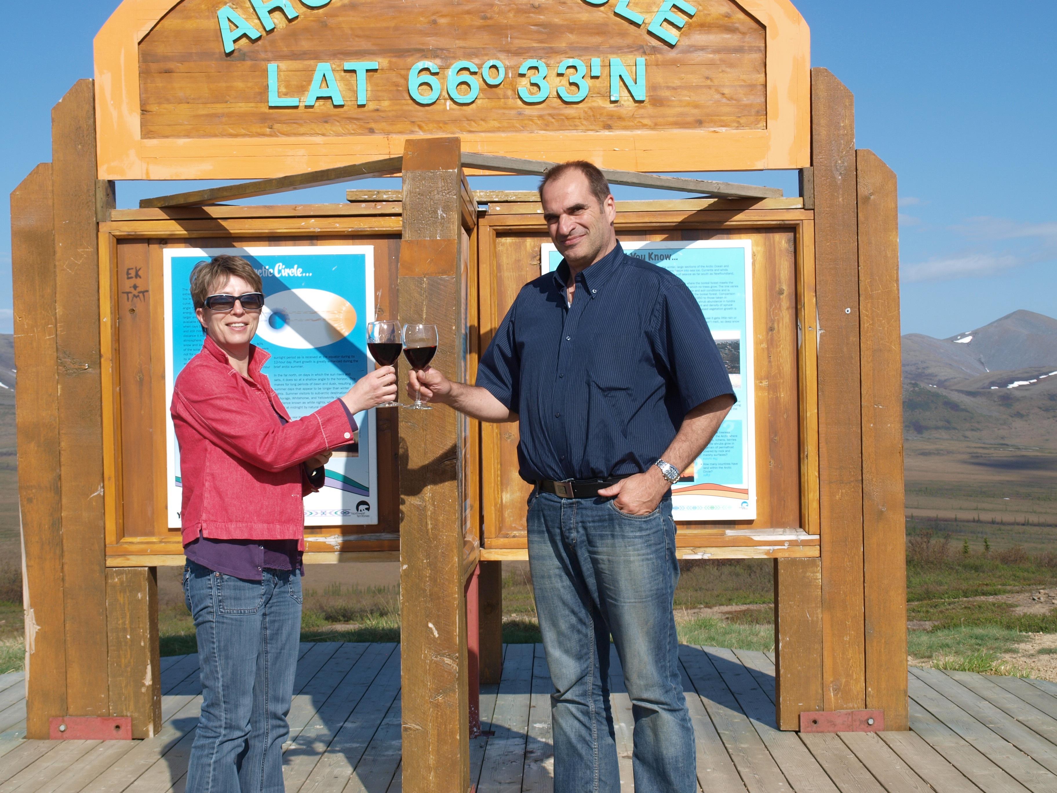 Blandine et Bernard PERRIN au Yukon