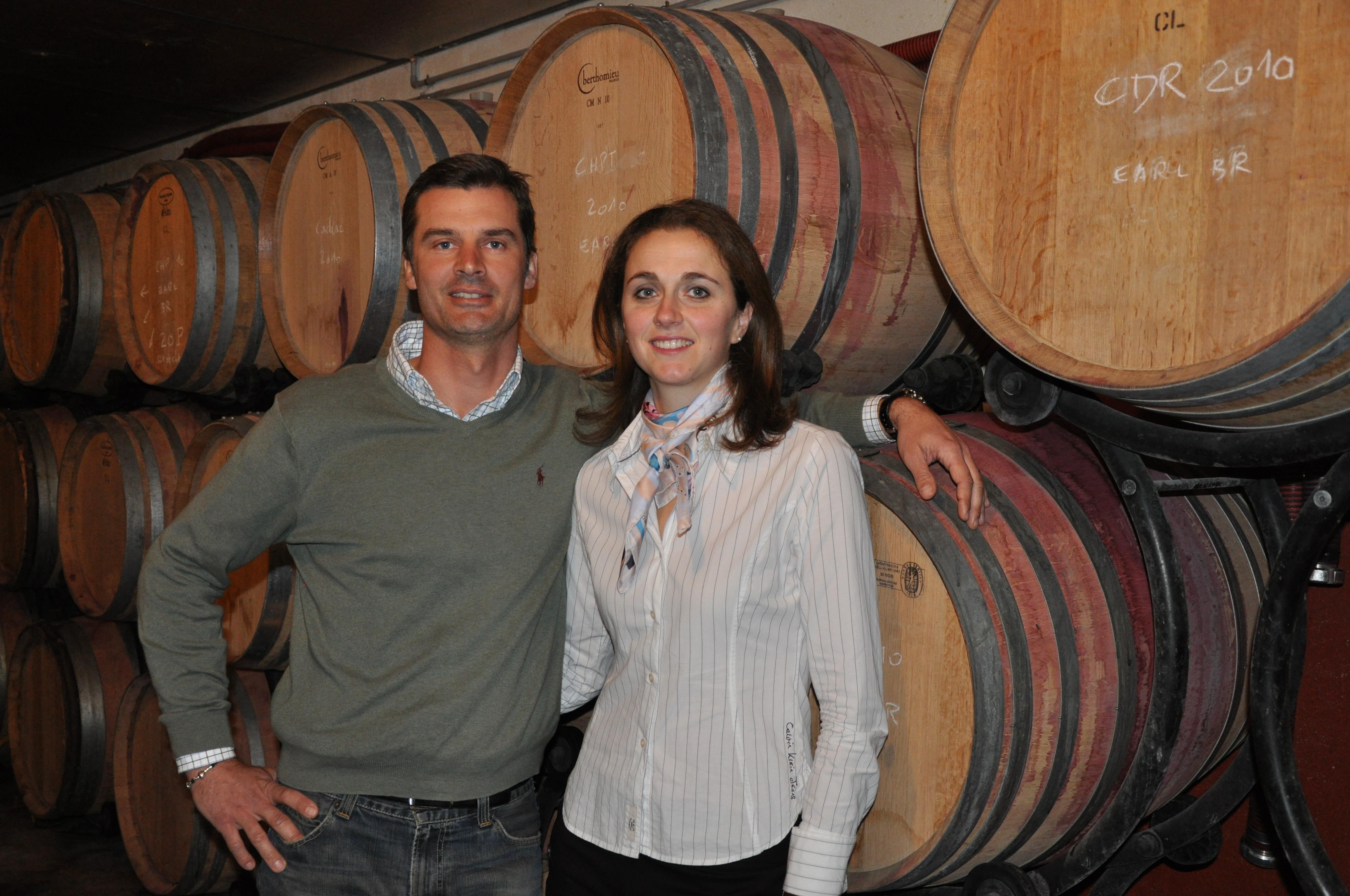 Laure et Martial du DOMAINE DES CIGALONS