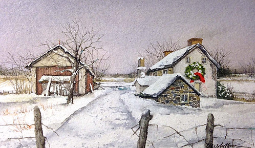 """""""Home for the Holidays""""  by Don Shoffner"""