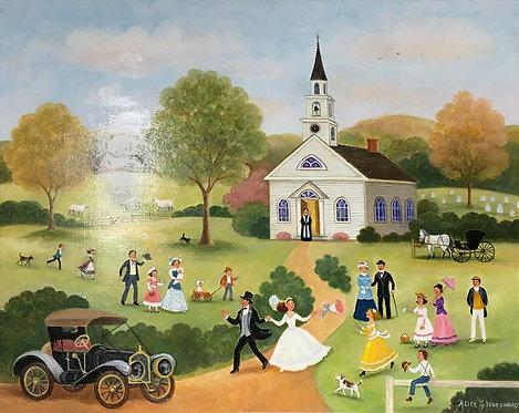 """Country Wedding II"" by Alice G. Woodward"