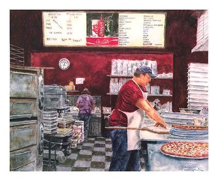 Pizza Man Booth's Corner