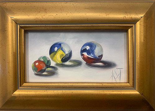 """Marbles"" by Karen Trimble"