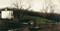Evening at Kuerners by Andrew Wyeth