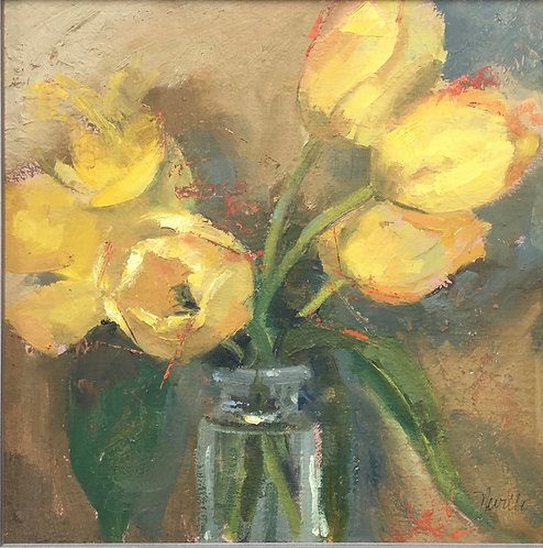 Yellow Tulips by Barbara Neville
