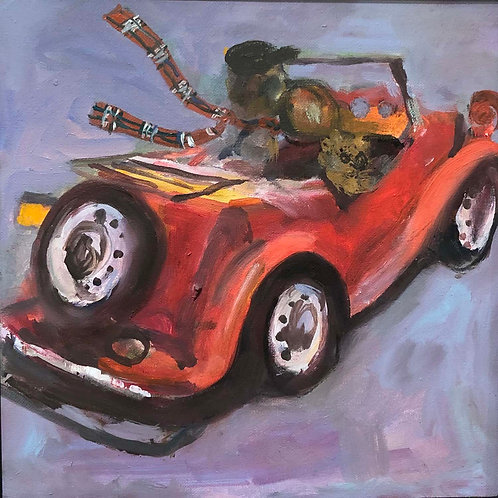 """""""Sunday Driver"""" by Judith McCabe Jarvis"""
