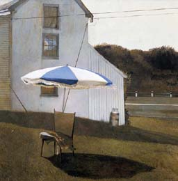 olivers_cap_Andrew_Wyeth_print_umbrella_SM