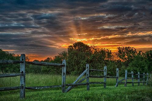 """Ring Road Sunset"" by Richard Schwartzman"