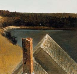 End_Of_Olsons_Andrew_Wyeth_print_dog_bed_roof_SM