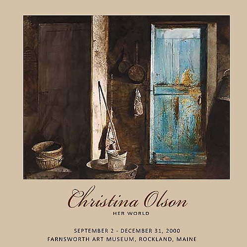 Christina Olson - Her World poster