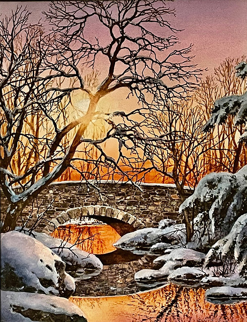 """Winter Crossing"" by Richard Bollinger"