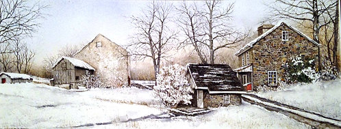 """""""Old Fashioned Winter"""" by Don Shoffner"""