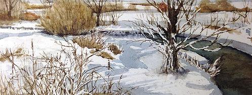 """""""Brandywine Winter"""" by Don Shoffner"""