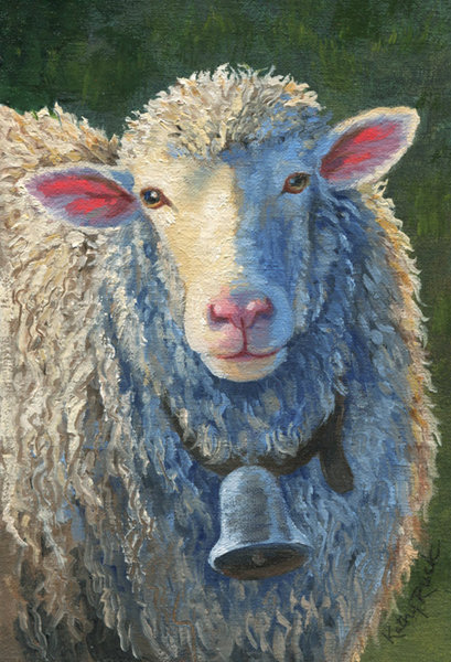 """""""Sheep's Pink Ears"""" by Kathy Ruck"""