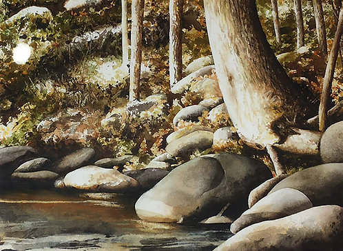 """""""Barely a Ripple"""" by John Wilkison"""