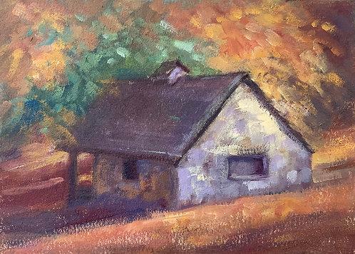 """""""Hagley Spring House"""" by Helena van Emmerik-Finn"""