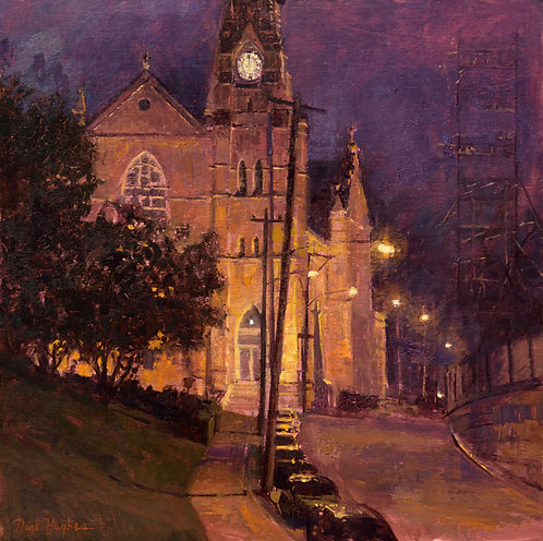 """""""Church Nocturne"""" by Neal Hughes"""