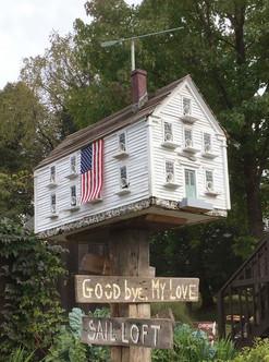 "Andrew Wyeth's ""Goodbye, My Love"" and ""Sail Loft"""