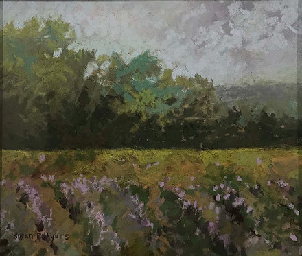 """Lavender Field"" by Susan B. Myers"