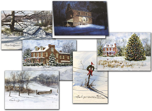 Christmas greetings cards brandywine valley