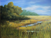 Marshlands by Lidia Kohutiak