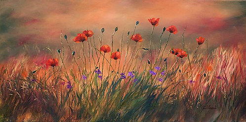 """""""Poppies"""" by Annette Alessi"""