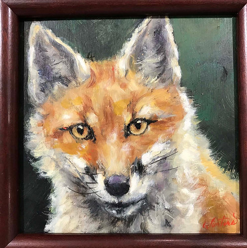"""Young Fox"" by Katy Winters"