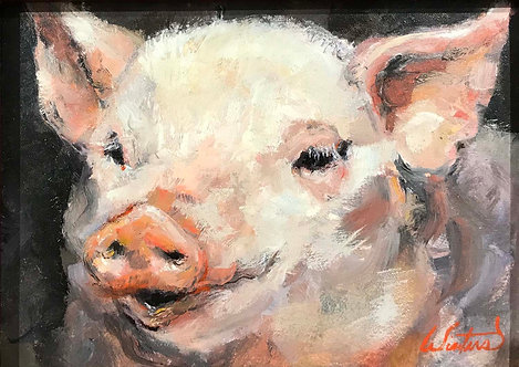 """This Little Piggy"" by Katy Winters"