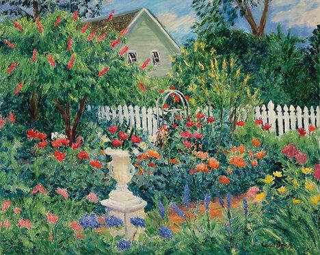 """The Garden Urn"" by Carol Gray"