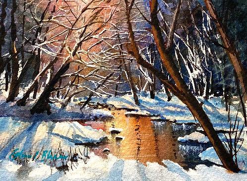 """Winter Solstice"" by Glenn Blue"