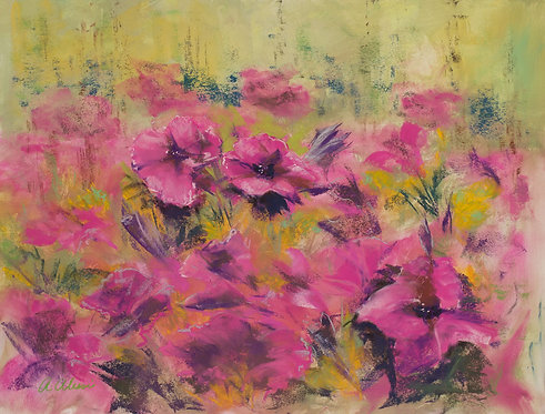 """""""Petunias"""" by Annette Alessi"""