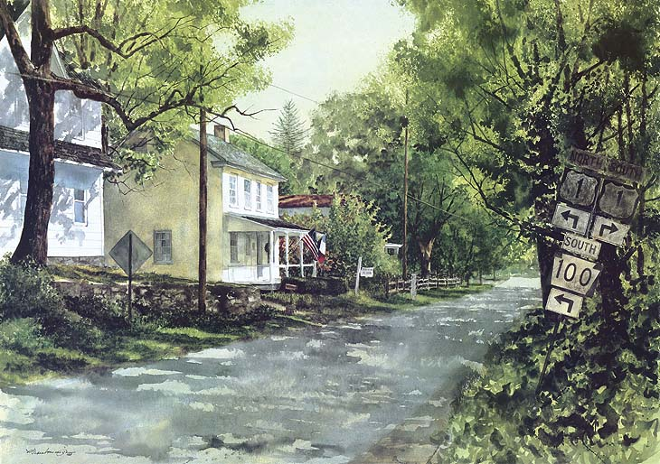 Village chadds ford - Paul Scarborough