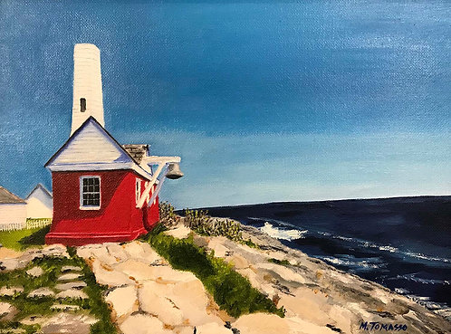 """Pemaquid Bell House, Maine"" by Michael Tomasso"