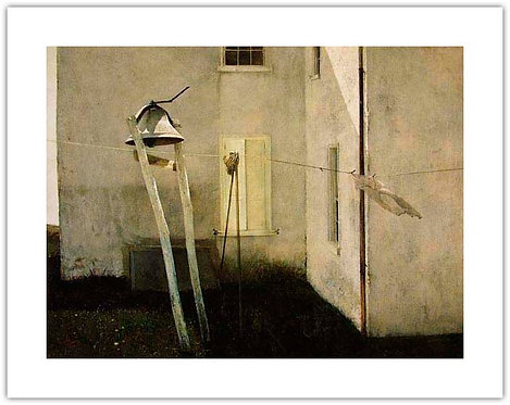 Slight Breeze by Andrew Wyeth print bell white house