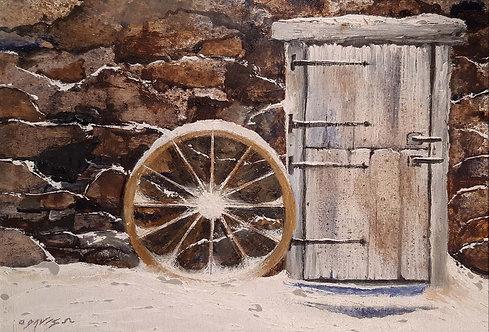 """Wagon Wheel"" by Lawrence J. Davis"