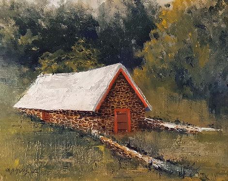 """Brandywine Outbuilding"" by Lawrence J. Davis"