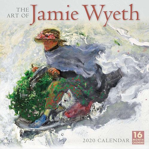 jamie wyeth print 2020 calendar