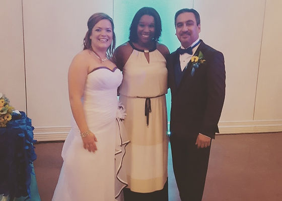 With This Ring owner and happy couple