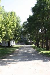 Shaded Walking areas