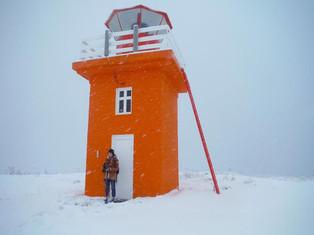The Lighthouse on Hrisey