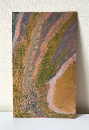 Oil on copper