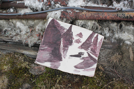 Painting Experiment Svalbard