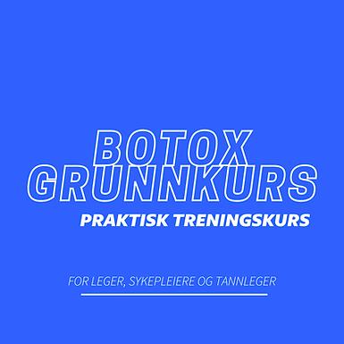 Nettstudier - Botox Grunnkurs - Praktisk trening