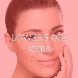 Leppe Avansert/Lower face Kurs